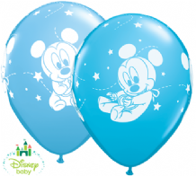 Baby Mickey Mouse Balloons - 11 Inch Balloons (25pcs)